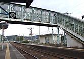 竹野駅の跨線橋